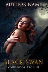 Premade book cover -Black Swan - Regine Abel