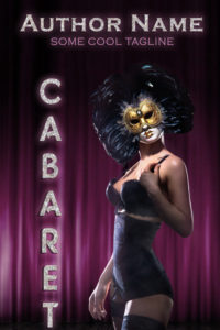 Premade book cover -Cabaret - Regine Abel