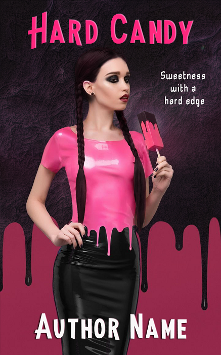 Premade book cover -Hard Candy - Regine Abel