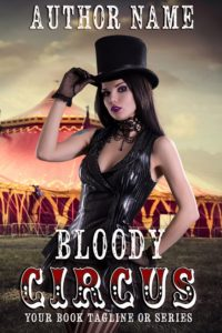 Premade book cover -Circus - Regine Abel