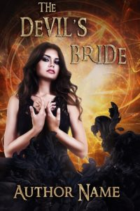 Premade book cover - Devils bride - Regine Abel