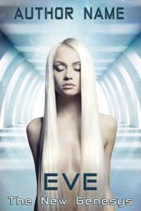 Eve premade book cover - Regine Abel