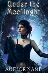 Premade book cover -Moonlight - Regine Abel